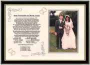 Wedding Anniversary News Gift - Photomount