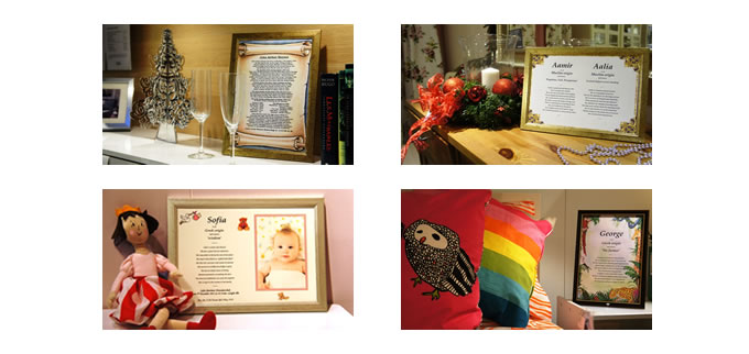 Framed Personalised Gifts for the whole family and every occasion. Browse through our extensive catalogue for all our fan gift ideas. If you're stuck for what gifts to choose, take a look at our Gifts for Everyone or Occasion pageswhere you can find wonderful presents for family and friends